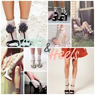Trend: Çorap+Topuklu Ayakkabı