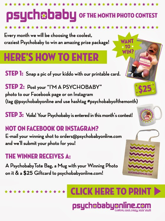Psychobaby of the Month Photo Contest