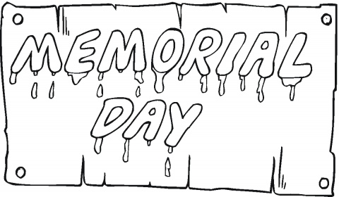memorial day coloring pages - memorial day coloring page screenfonds