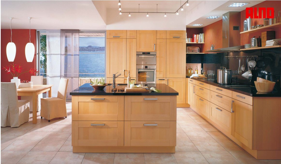 Open kitchen plans with island kitchen design photos 2015 for Open kitchen style