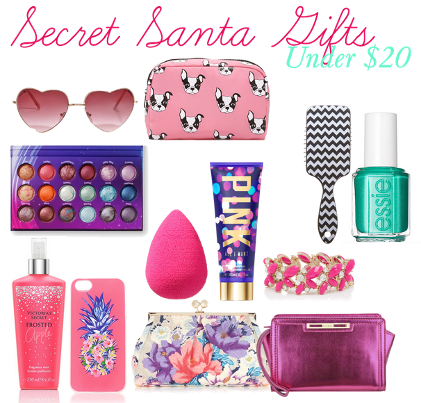The teen fashion ger secret santa gift ideas under
