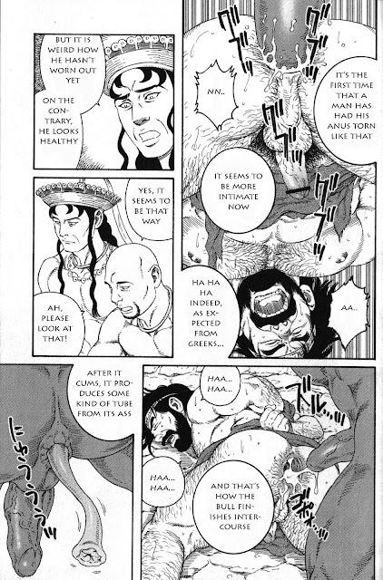 Tagame, yaoi, bara, Muscle, Big penis, Kureta no Meushi,