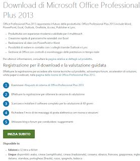 Come ottenere gratis Office 2013 Italiano Completo - Link download