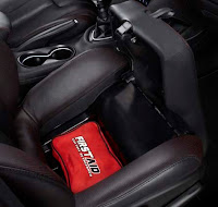 Dodge Dart underseat storage