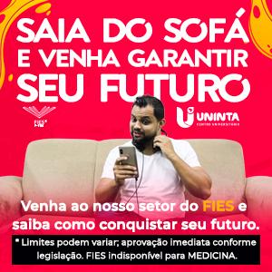 SAIA DO SOFÁ - UNINTA