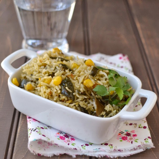 Poblano Corn Rice