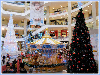 2013 Christmas decor, seen at the atrium of Pavilion KL Shopping Mall