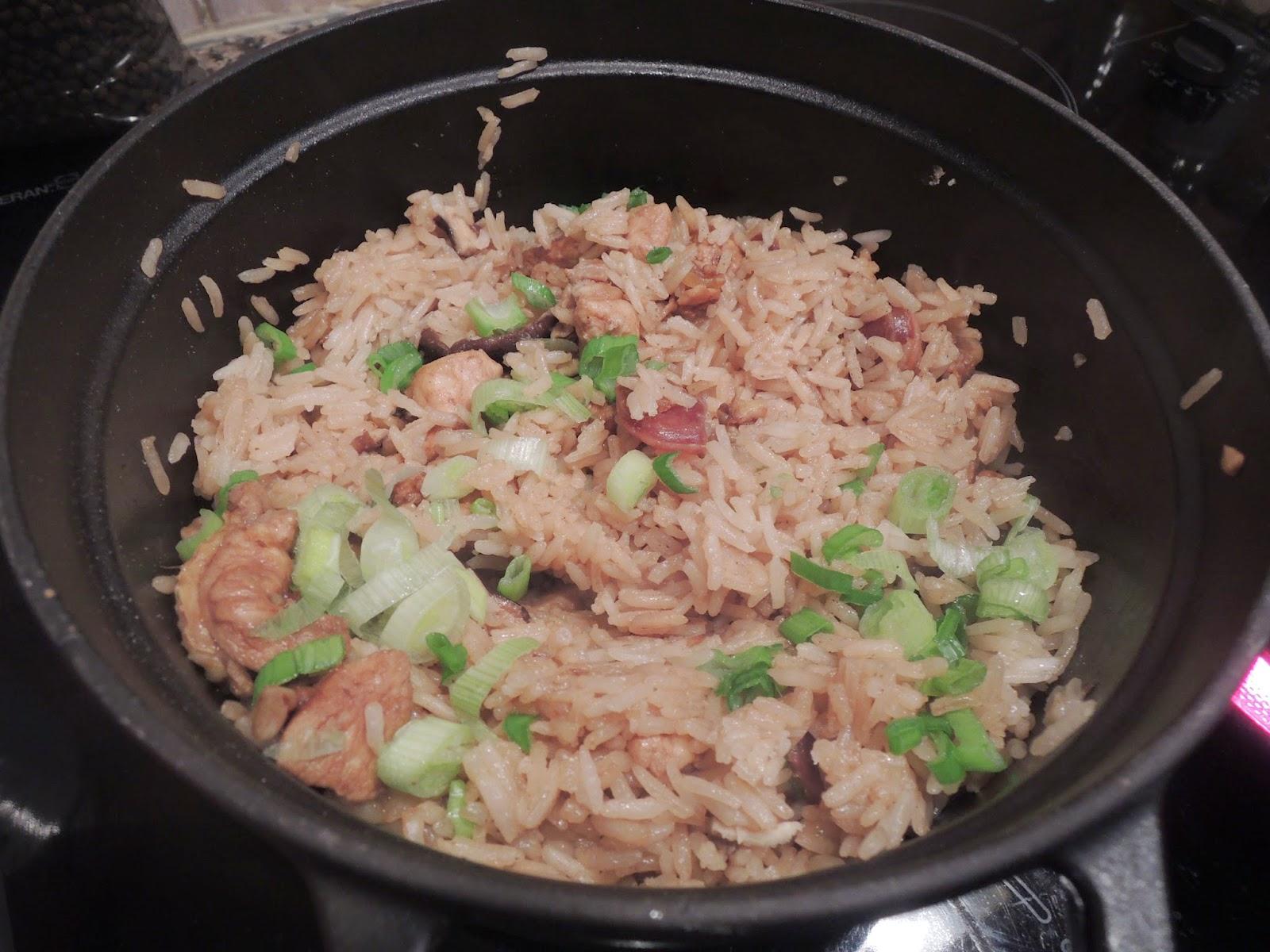 Marmite de riz la cantonaise blogs de cuisine - Absorber l humidite avec du riz ...