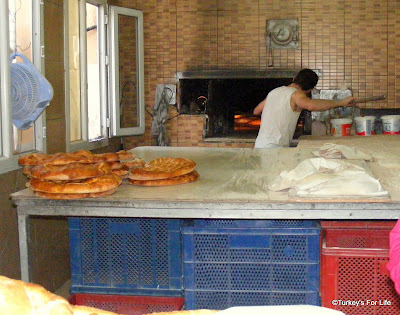 Baking Turkish Bread