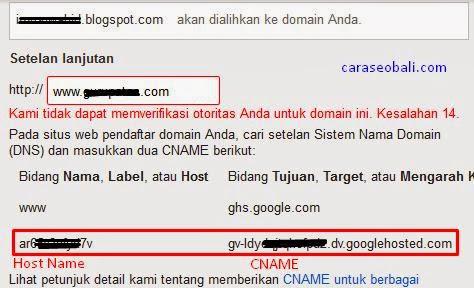ubah ke custom domain
