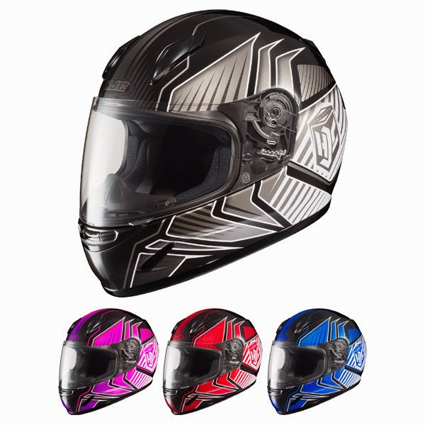 HJC CL-Y Youth Redline Motorcycle Helmet