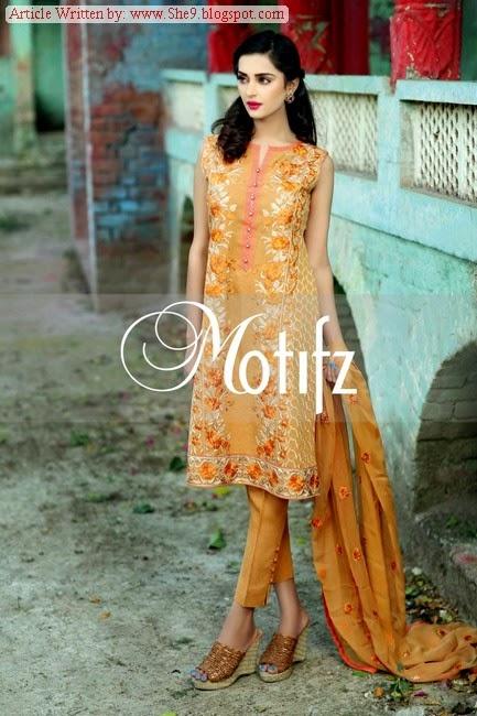 Motifz Khaddar-Karandi Dresses Vol-2