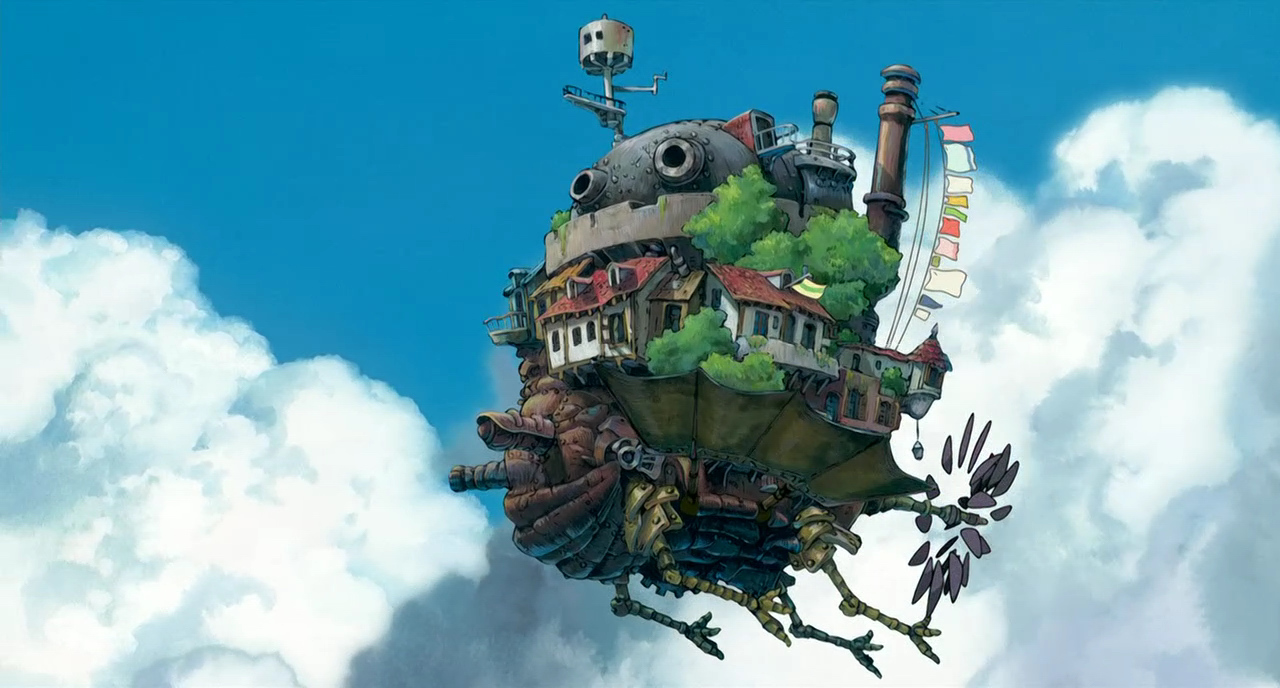 from 'Howl's moving castle'