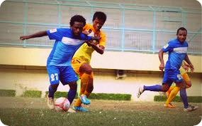 Yahukimo FC Imbangi Asbar FC pada Liga Desa Indonesia (LIDI) 2015