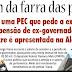 Mais uma PEC que pede a extinção da pensão de ex-governador no Acre é apresentada na Aleac