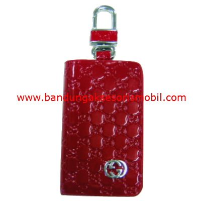Dompet STNK Gucci Emboss Merah