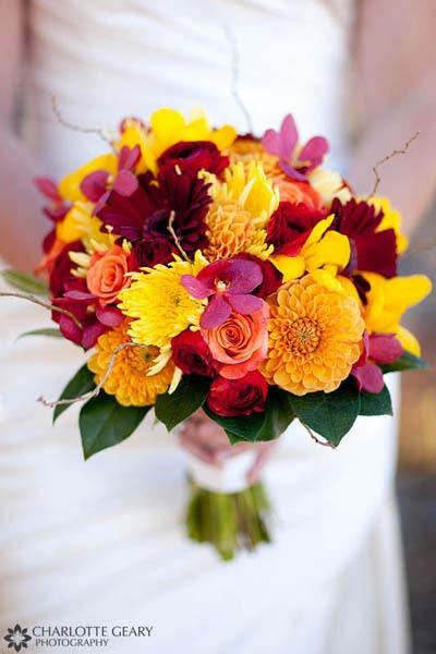 Wedding Flowers In Fall : Detroit michigan wedding planner fabulous fall flowers