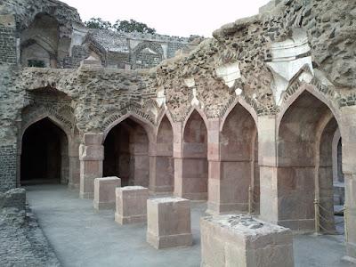 Raj Bahadur place in Mandu