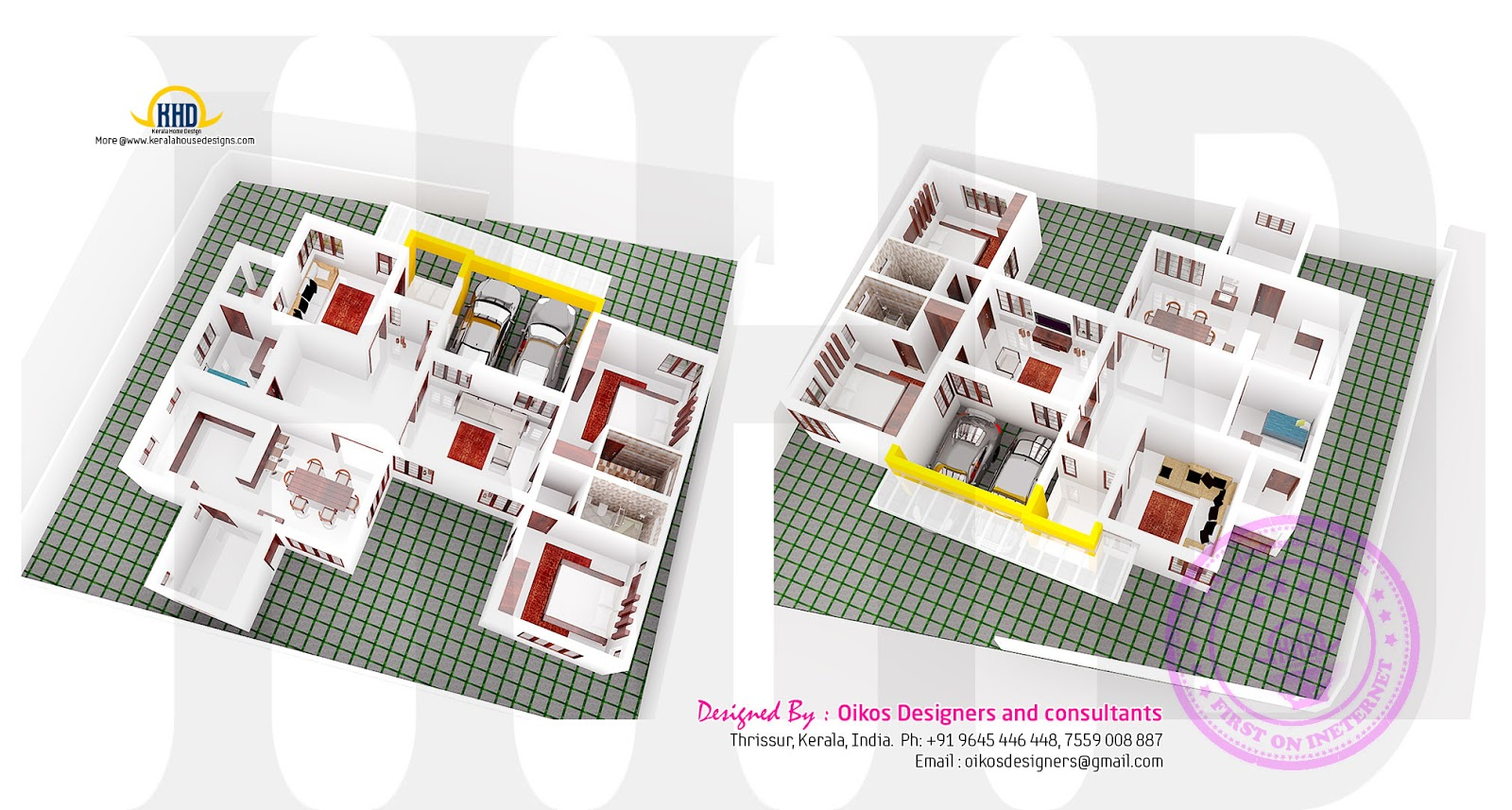 Plan Elevation And Isometric View : Elevation floor plan and isometric by oikos