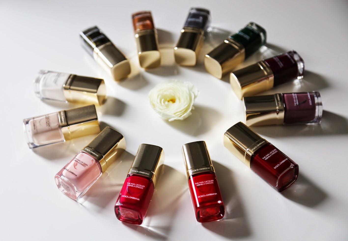 Dolce&Gabbana Make Up Dolce lacas de uñas