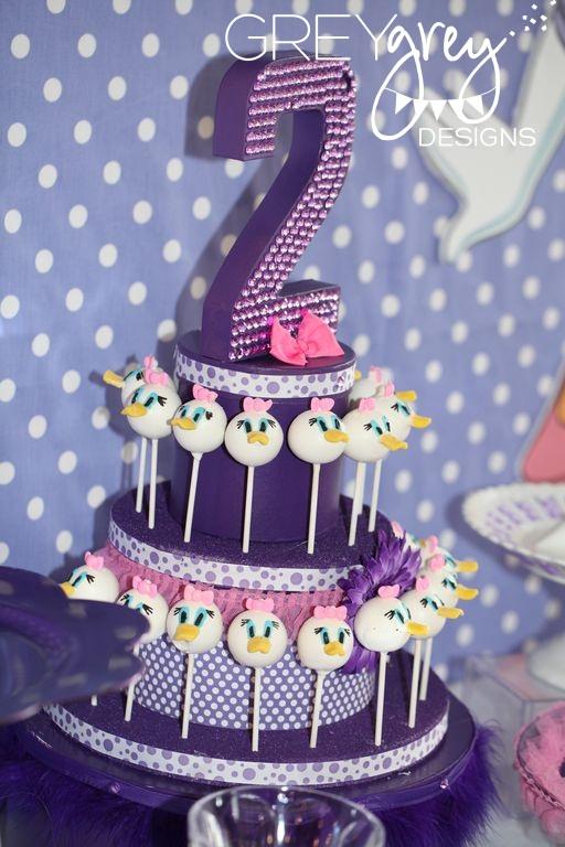 Greygrey Designs My Parties Emma Kates Daisy Duck Party