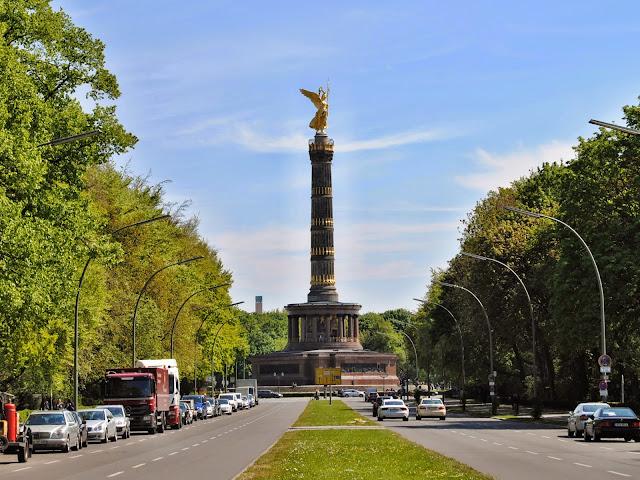 Viktorie vítězný sloup tiergarten berlin