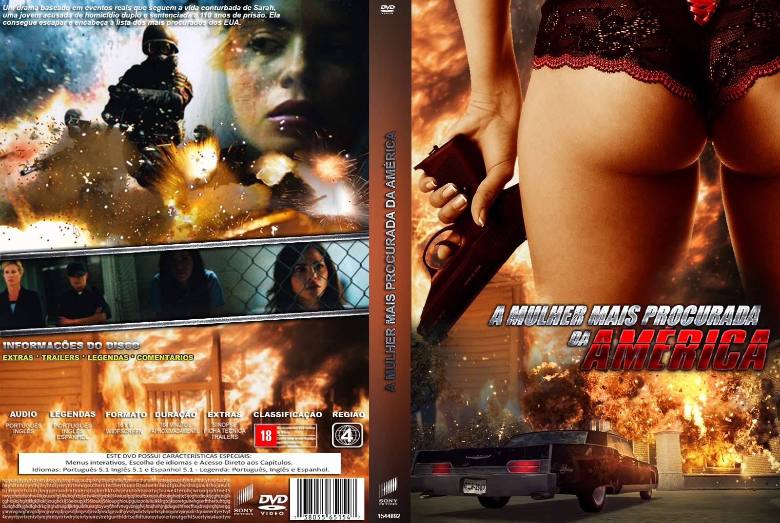 A Mulher Mais Procurada da América (2014) Torrent – BDRip Dual Áudio Download