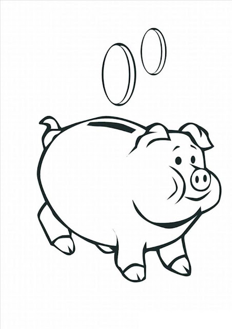 How To Draw A Cute Pig Drawing Easy