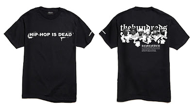 The Hundreds Ten Year Top Ten T-Shirts Collection - Hip-Hop Is Dead
