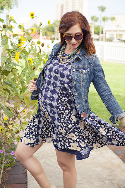 Amy West in Anthropologie fashion