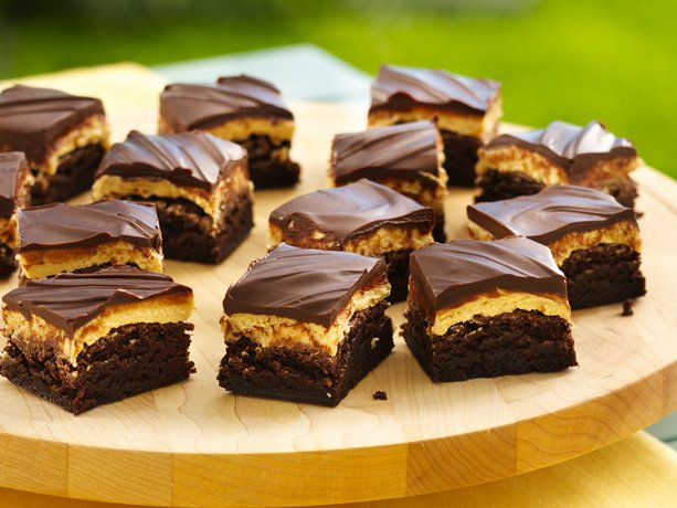 ... Heart: Cake Mix Recipes: Traditional Peanut Butter Truffle Brownies