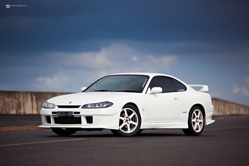niskie, sportowe, zawieszenie, Nissan Silvia