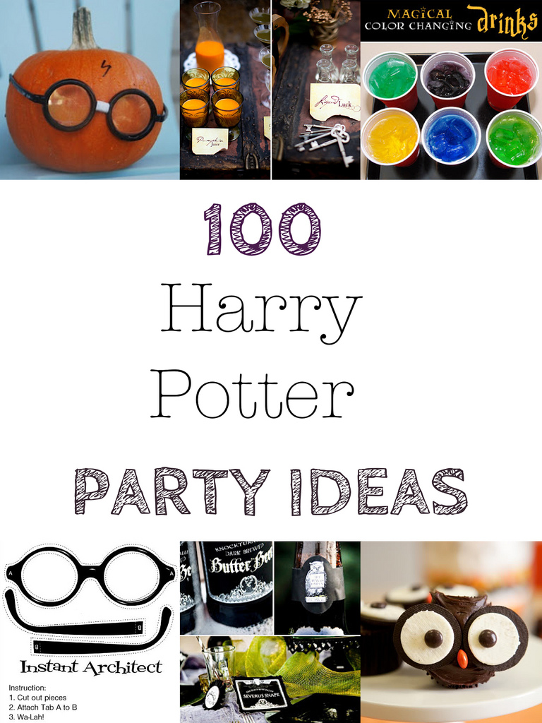 HOUSE OF PAINT.: 100 + Harry Potter Halloween Party Ideas