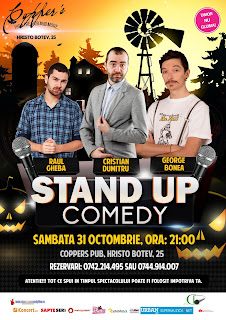 Stand-Up Comedy Sambata 31 Octombrie Bucuresti