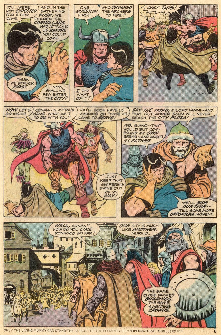 Conan the Barbarian (1970) Issue #53 #65 - English 5