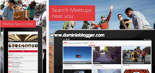 Conoce gente cerca de ti y unete a la comunidad de Meetup
