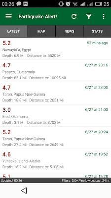 earthquake egypt