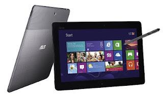 Asus ME-400, Tablet Windows 8 Terbaru dari Asus dengan Intel Atom Trail Clover dan Internal Memori 64 Gb