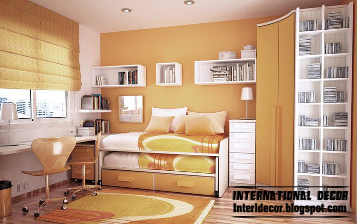 Current Paint Colors Extraordinary With Space Saving Ideas for Small Kids Rooms Photo