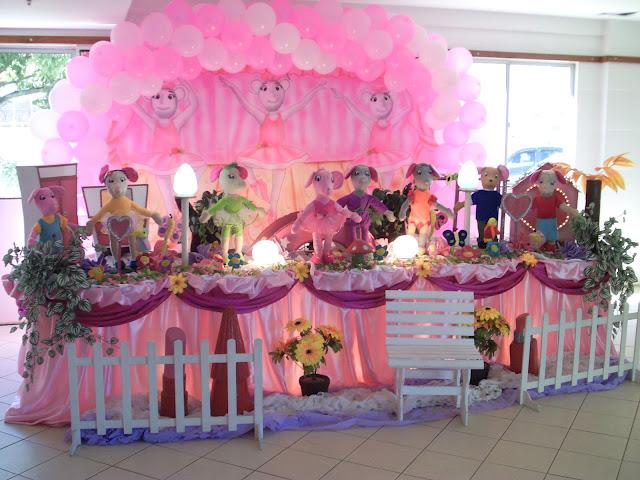 tema infantil angelina bailarina - festa de aniversário