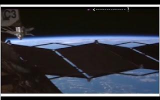 As câmeras da Nasa registraram a presença de um estranho objeto voador não identificado próximo à Estação Espacial Internacional.