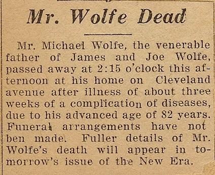Death Notice G.M.