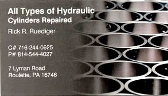 Hydraulic Cylinders Repaired