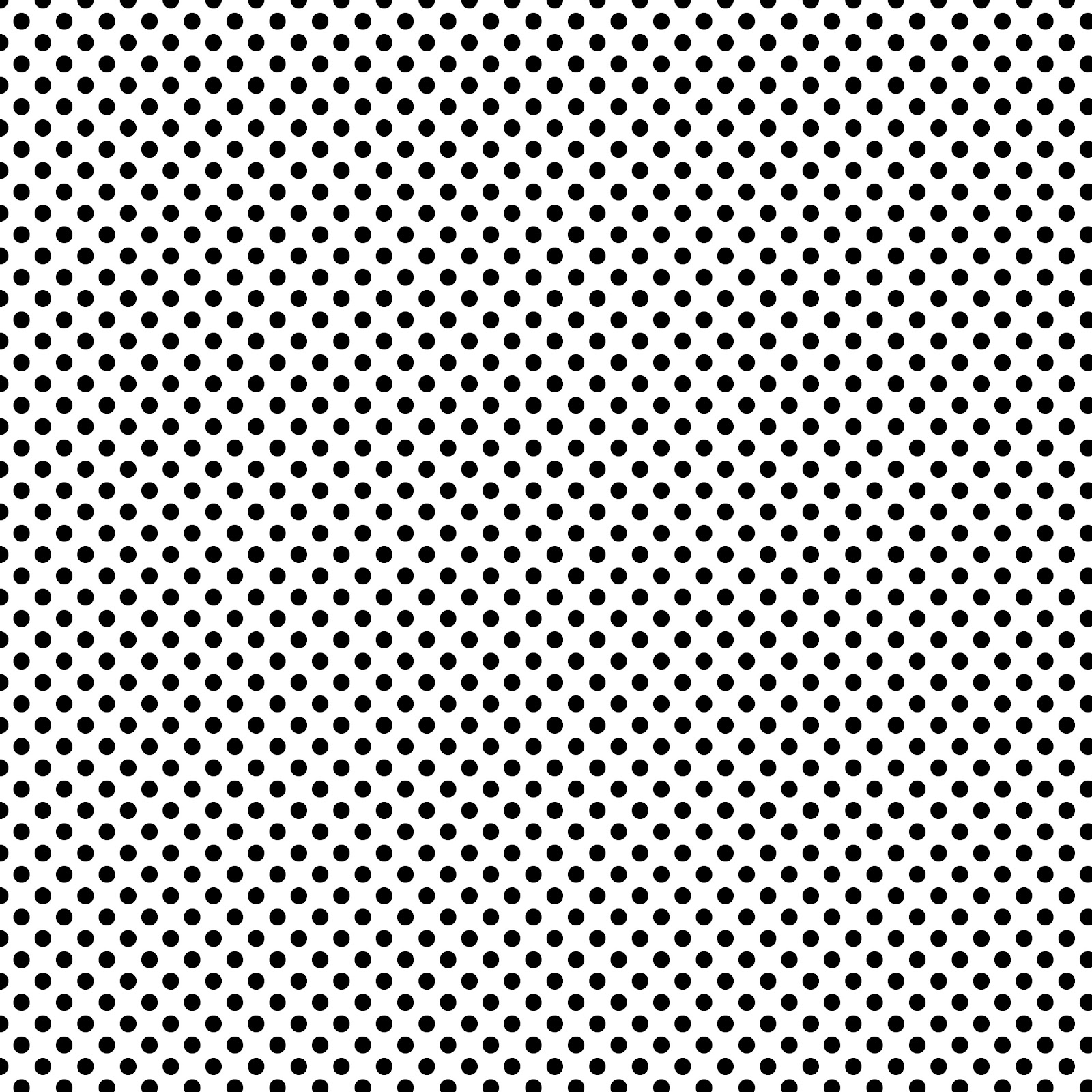 Black and white polka dot pattern - photo#11