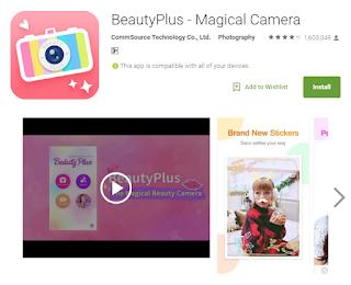 Aplikasi Android Terbaru 2016 Beauty Plus