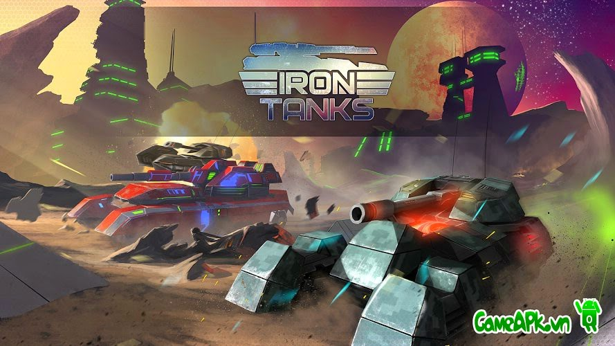 Iron Tanks v0.66 hack full tiền cho Android