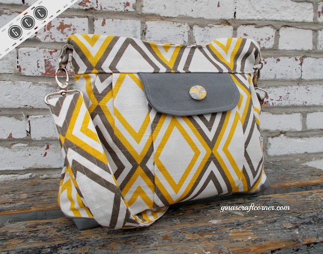 The GCC Deluxe Concealed Carry Purse by Gina's Craft Corner