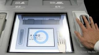 ATM Telapak Tangan dari Jepang