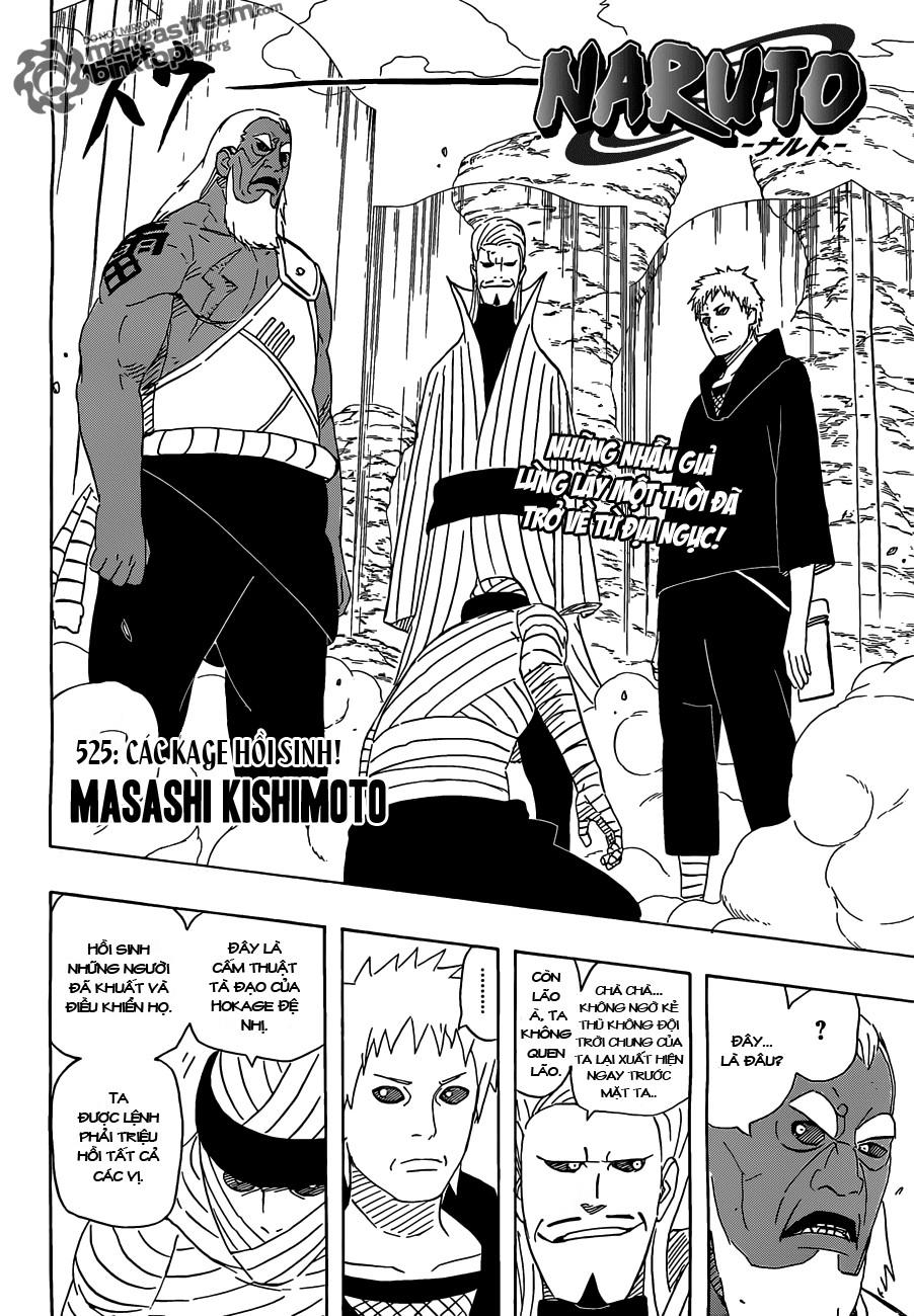 Naruto chap 525 Trang 2 - Mangak.info