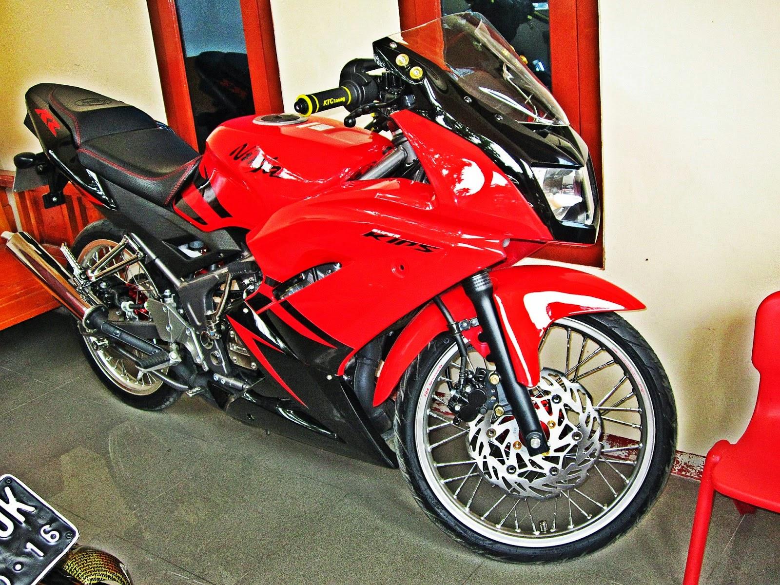 Download 100 Gambar Motor Ninja 2 Tak Jari Jari Terbaik Kurama Motor